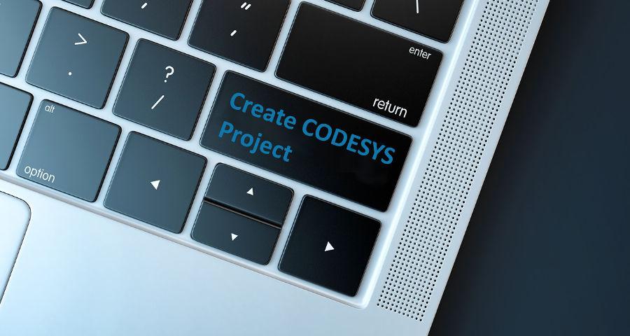 CODESYS Projekt anlegen