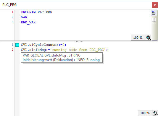 Variable-Tooltip für detaillierte Informationen über die Variable